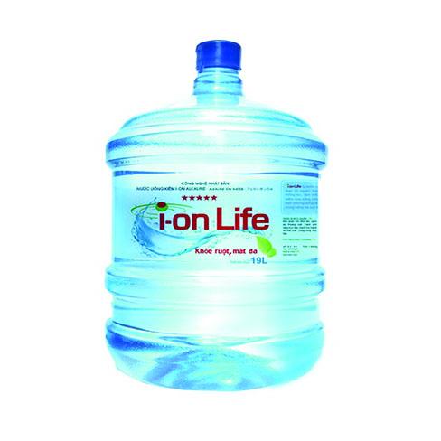 nước ion life bình 19l