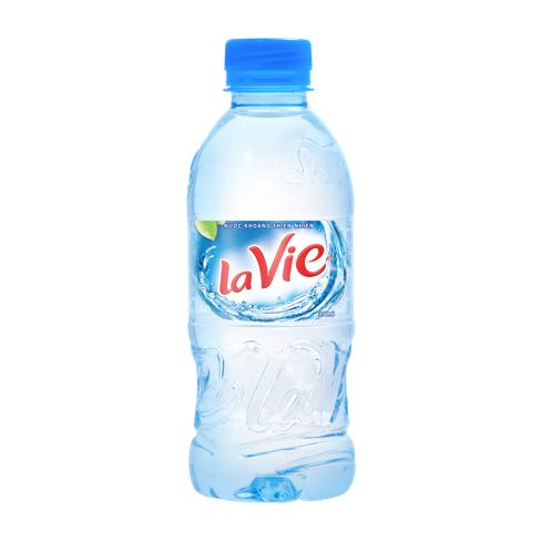 chai nước lavie 350ml