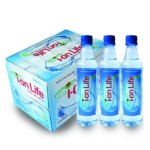nước uống đóng chai ion life